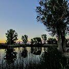 Sundown Out West by marilyn diaz