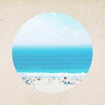 Classic seaside - porthole paper design by hamptonstyle