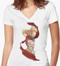 Radiant Historia Women's Fitted V-Neck T-Shirt