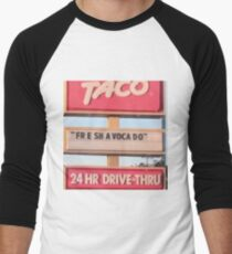 Freshavacado Men's Baseball ¾ T-Shirt