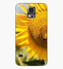 Busy Bee on Sunflower - Nobby, Australia Case/Skin for Samsung Galaxy