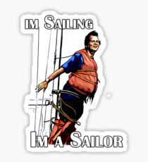 Im Sailing Sticker
