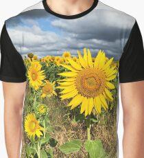 Sunflower Field - Nobby, Australia   Graphic T-Shirt