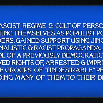 America In Jeopardy by DomPlatypus