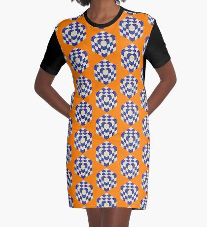 #DeepDream Color Squares Visual Areas 5x5K v1448964615 Graphic T-Shirt Dress