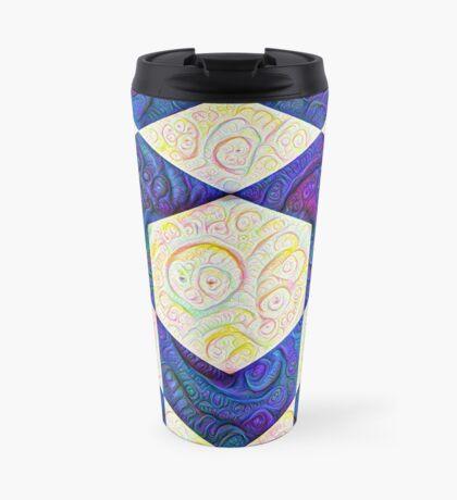 #DeepDream Color Squares Visual Areas 5x5K v1448964615 Travel Mug