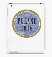 Vintage Poland Independence day iPad Case/Skin