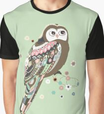 Curious owl Graphic T-Shirt
