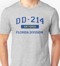 Air Force Veteran Shirt DD214 Florida T-Shirt Unisex T-Shirt