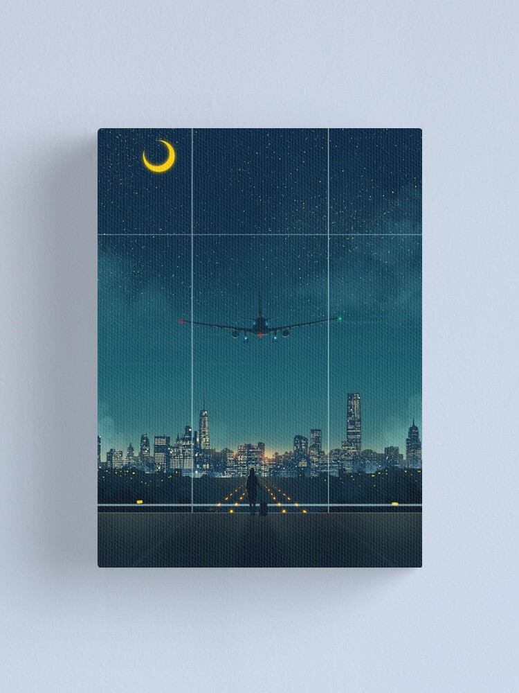 Alternate view of I'm Home Canvas Print