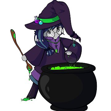 Potion Marble Witch by TeddiBura
