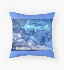 Cadillac Heaven Throw Pillow