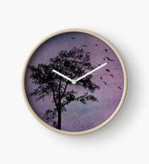 Sunday Evening, Purple Sky Clock