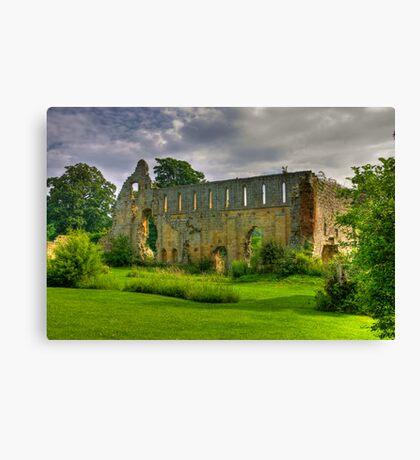 Jervaulx Abbey #1 Canvas Print