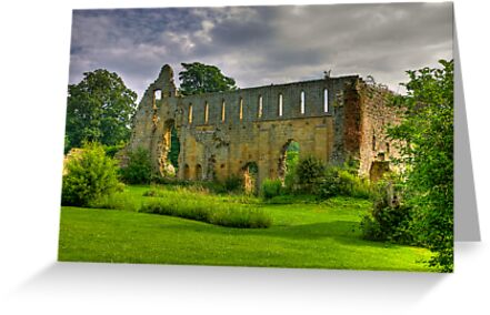 Jervaulx Abbey #1 by Trevor Kersley