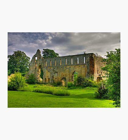 Jervaulx Abbey #1 Photographic Print