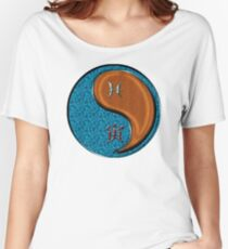 Pisces & Tiger Yang Wood Women's Relaxed Fit T-Shirt