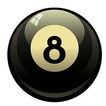 8 Ball by linarangel