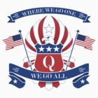 QANON PATRIOTIC USA 4th Of July WWG1WGA by AltrusianGrace