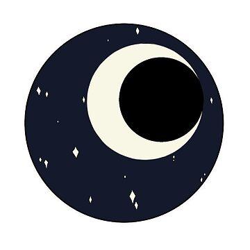 Moon patch by pastelquartz