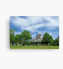 The Haunted Mansion Canvas Print