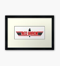 You Must Know About Red Barron Framed Print