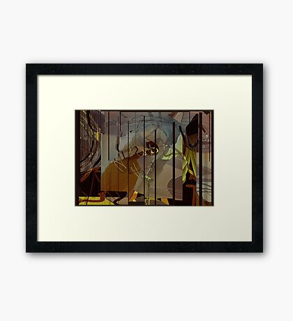 That Haunting Feeling Framed Print