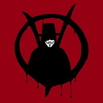 V for vendetta by Monkeydario