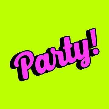 Party. Pop art. by ivector