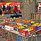 The French Market by Malcolm Chant