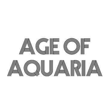 Age of Aquaria (Black) by JStuartArt