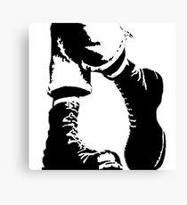 Punx Boots Canvas Print