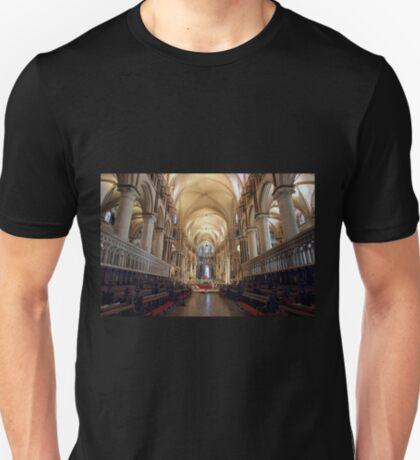 Canterbury Cathedral Interior T-Shirt