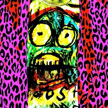Leopard print baby by LittleRedChucks