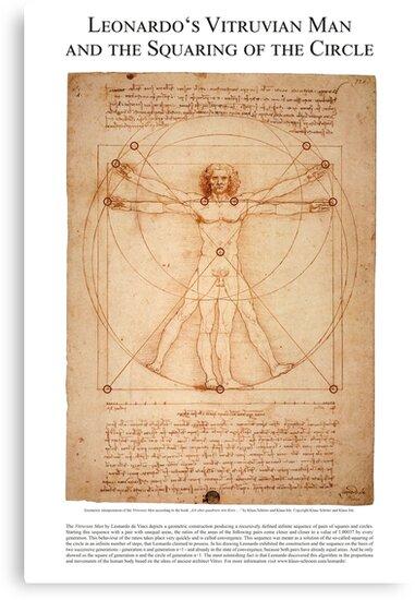 Leonardo's Squaring of the Circle von Klaus Schröer