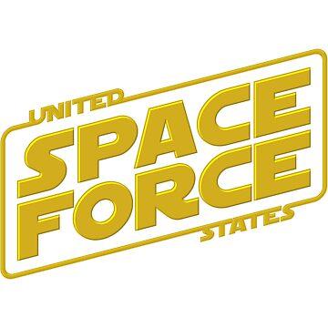 U.S. Space Force by D4N13L