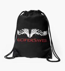Lucifer Saved: Lucifan fan art Drawstring Bag