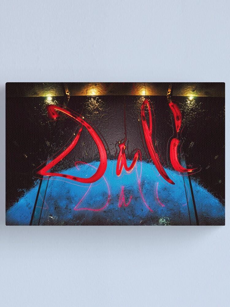 Alternate view of Dali Canvas Print