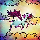 Flying Fawn by unihorse