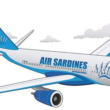 Air Sardines International by Manikool