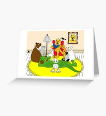 Story Hour Greeting Card