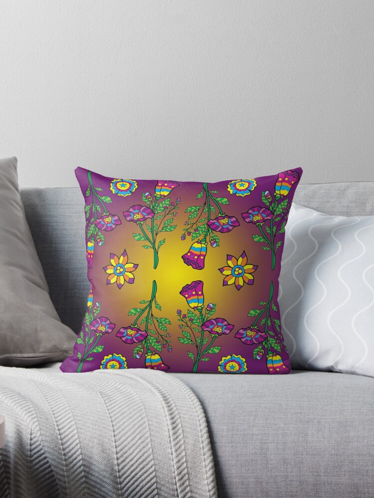 Colorful Flowers by Gold Target