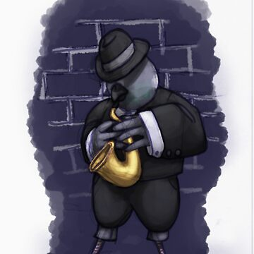 Jazz is for the birds- Original by DeadlyPancake