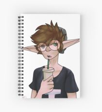 A Drink Spiral Notebook