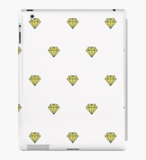 Geometric pattern with linear diamonds iPad Case/Skin