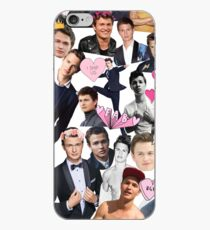 Ansel Elgort Collage iPhone Case