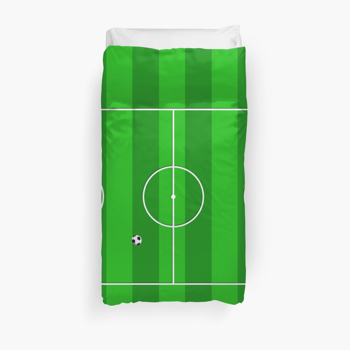 Football Soccer Pitch by CroDesign