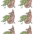 Hairless Sphynx Cat Fairy - Multiple  by shelahdowart