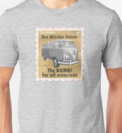 Volkswagen Kombi Tee Shirt - Splitty Stamp T-Shirt