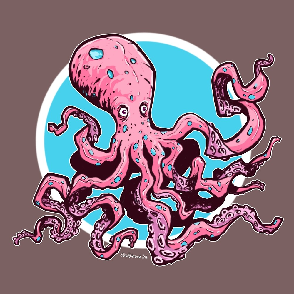 Pinktopus by DocHackenbush
